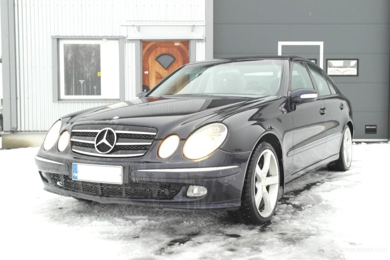 Huutokaupat.com - Henkilöauto Mercedes-Benz 320 CDI automaatti, käyttöönotettu 2004, Oulu