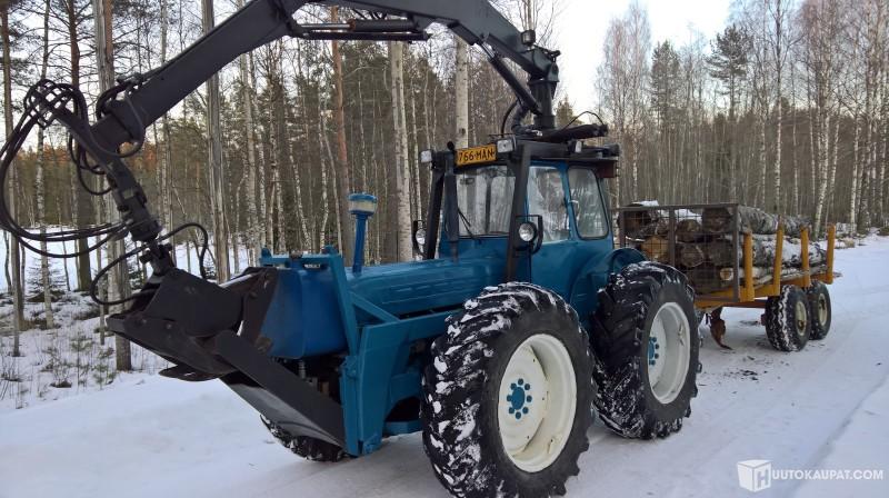 Huutokaupat.com - Ford COUNTY 4X4 metsävarustus, Mikkeli