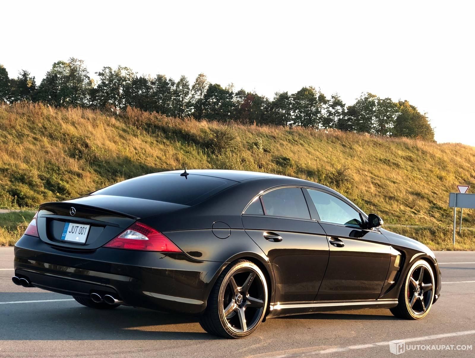 Mercedes Benz CLS 55 AMG 500hv V8 Remmiahdettu Blackline TAX FREE