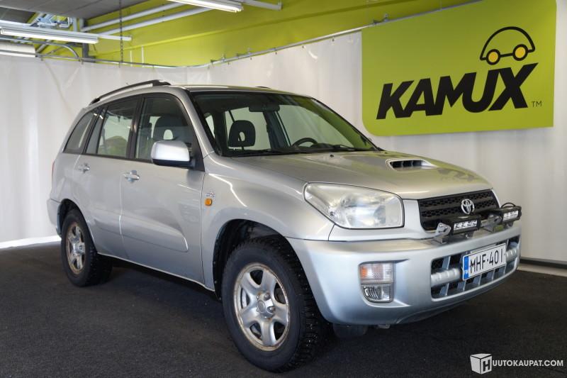 Huutokaupat.com - Toyota RAV-4 2,0 D4D 4WD Rek. PA, 2003 (ensirek.3/2003), 2.0 l, Diesel, 362000 km, Kokkola