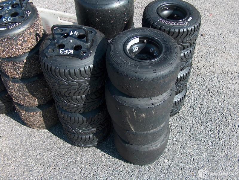 käytettyjä renkaita