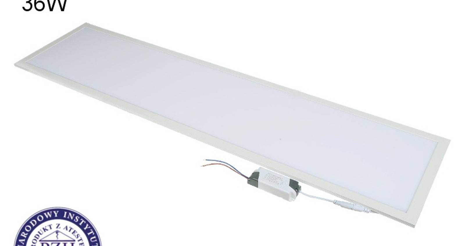 Recessed LED PANEL 300x1200 — UPPOAVA, 36W/72W, dimmable, high CRI97
