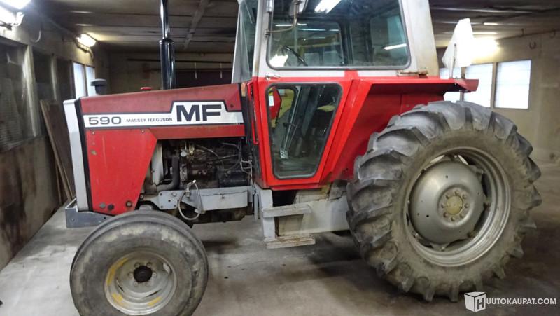 Huutokaupat.com - Myydään nettihuutokaupalla MF 590 -traktori, Jokioinen