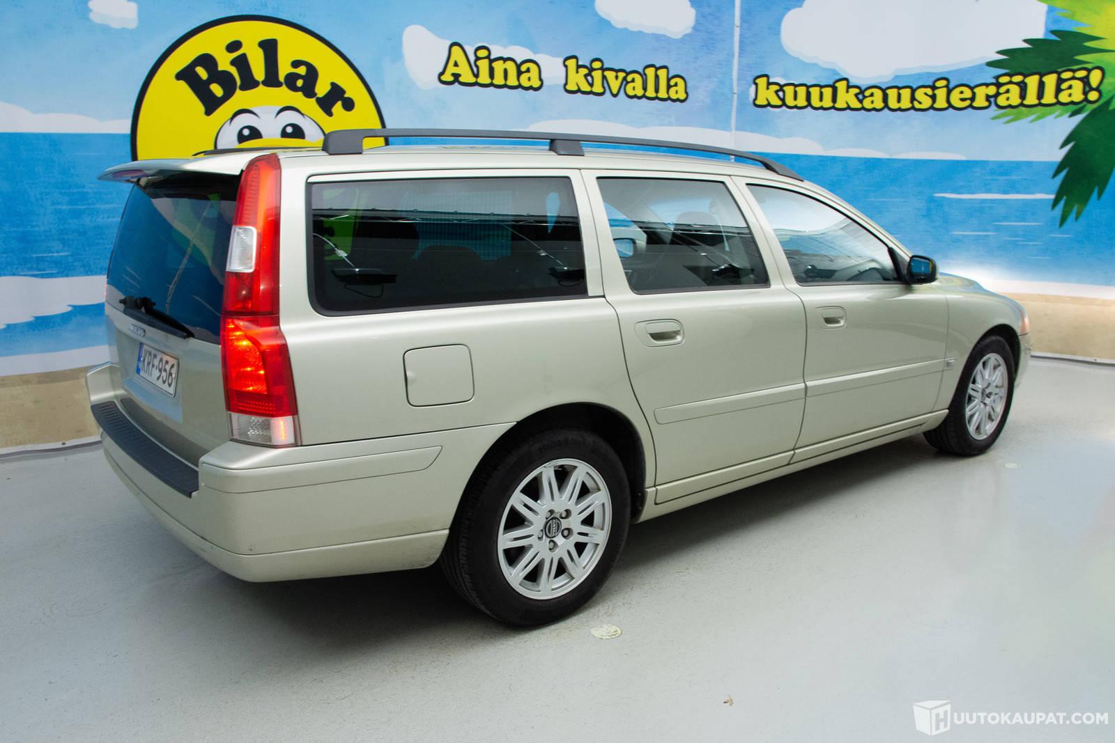 Volvo V70 2 4 Sportswagon Business 2006 2 4 L Bensiini 330000 Km